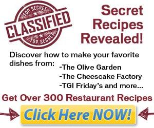 Secret Recipes Revealed